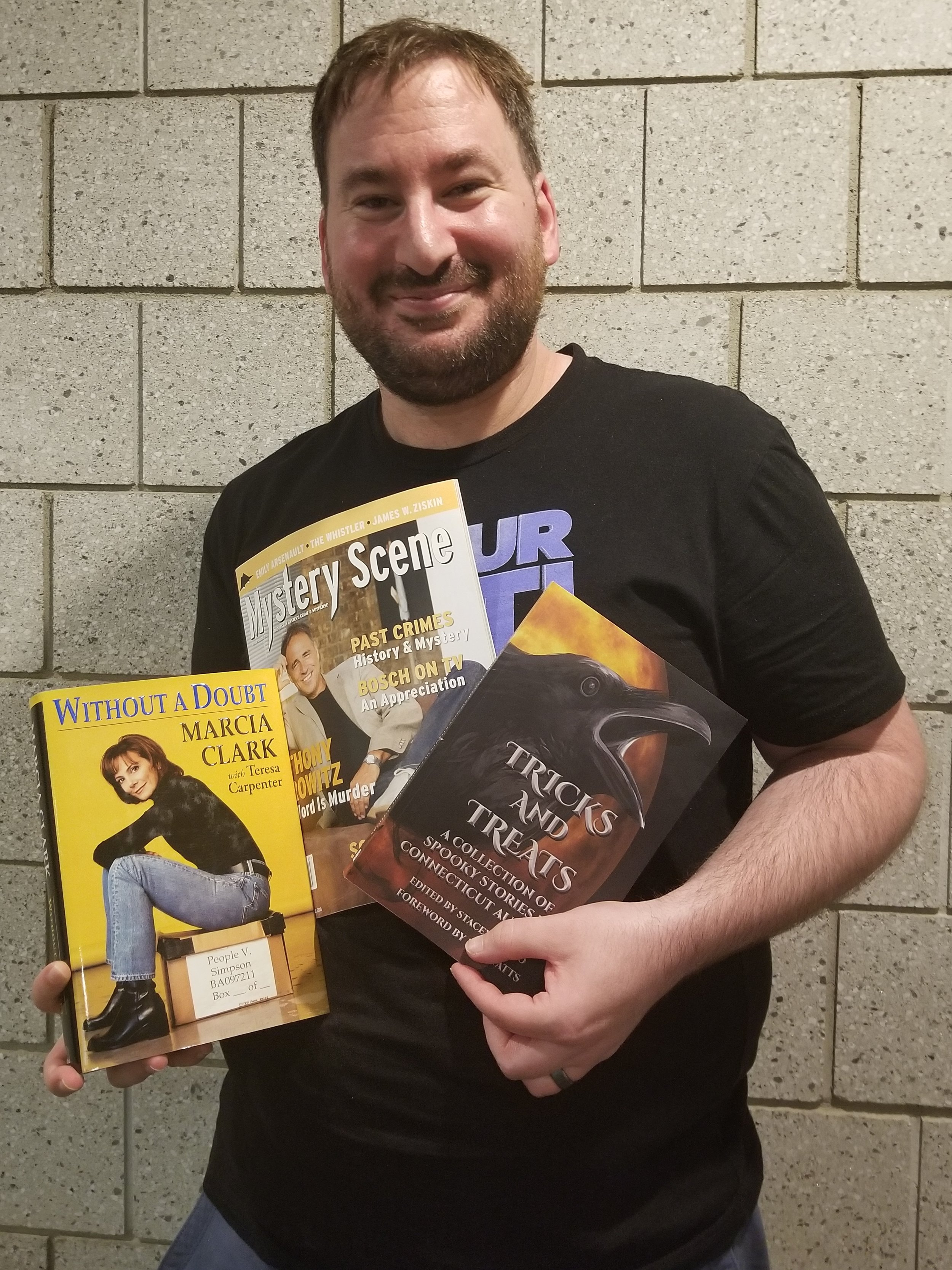 Our Mystery Man - John Valeri - with  EPISODE 60 GIVEAWAY LOOT ! Subscribe to our newsletter by October 6, 2018 to be entered to win.