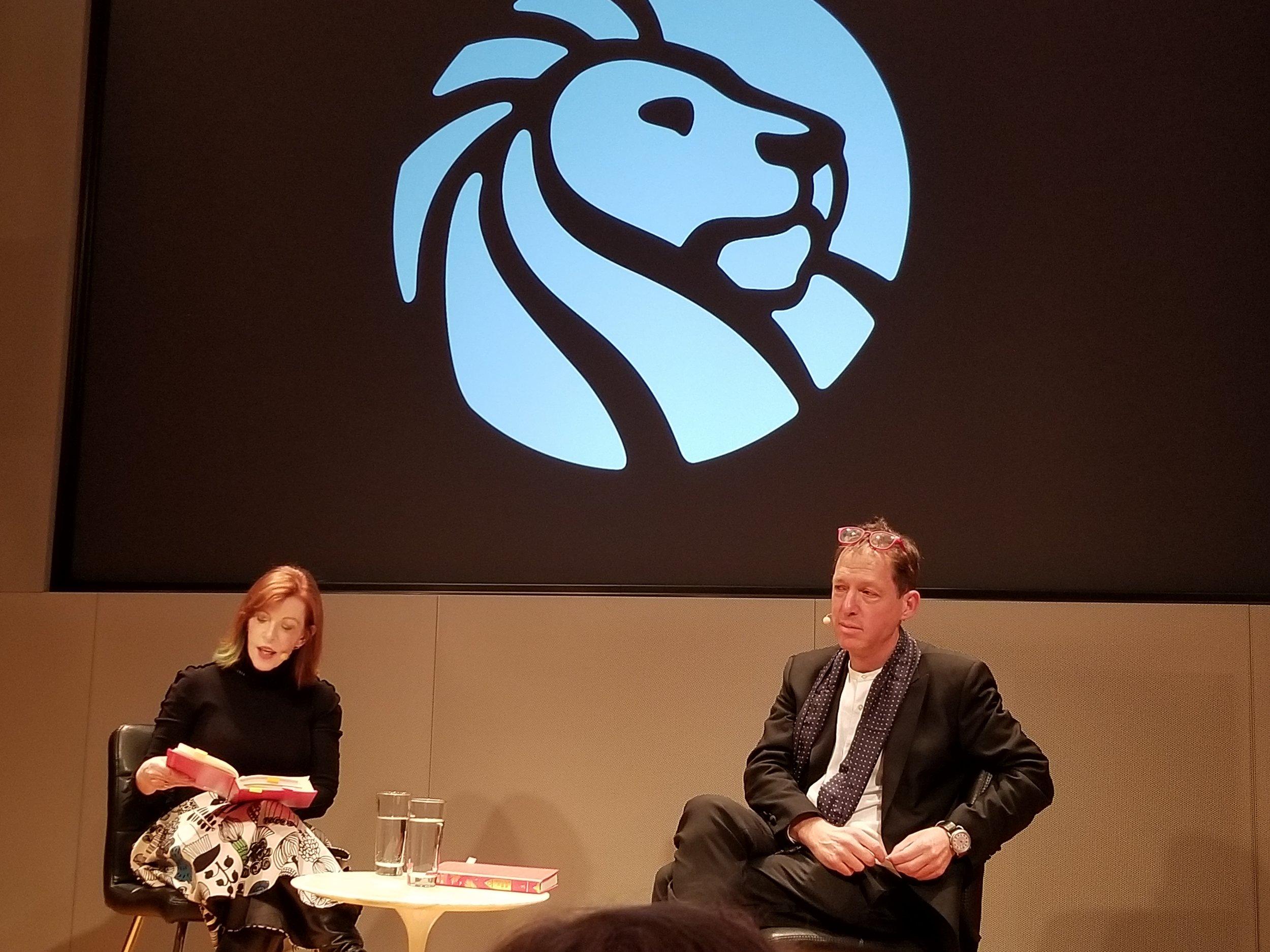 Susan Orlean and Paul Holdengraber