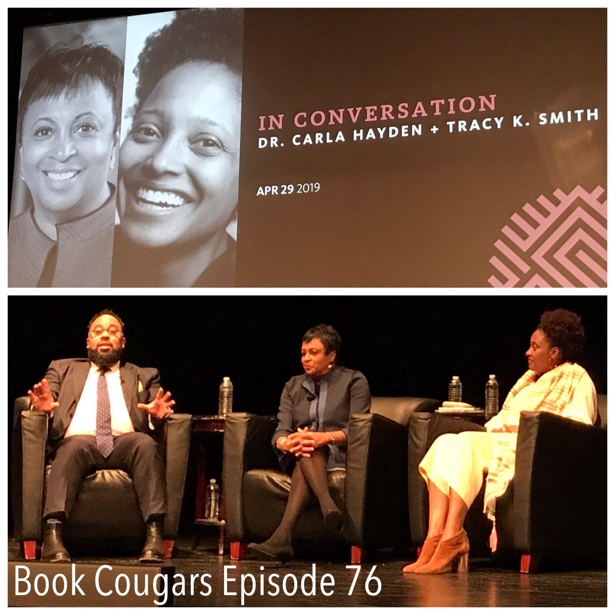 An evening at the  Schomburg Center for Research in Black Culture  featuring Dr. Carla Hayden, Tracy K. Smith, and Kevin Young.