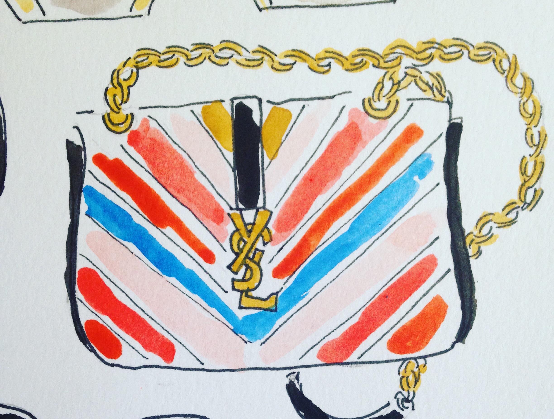 YSL Rainbow bag