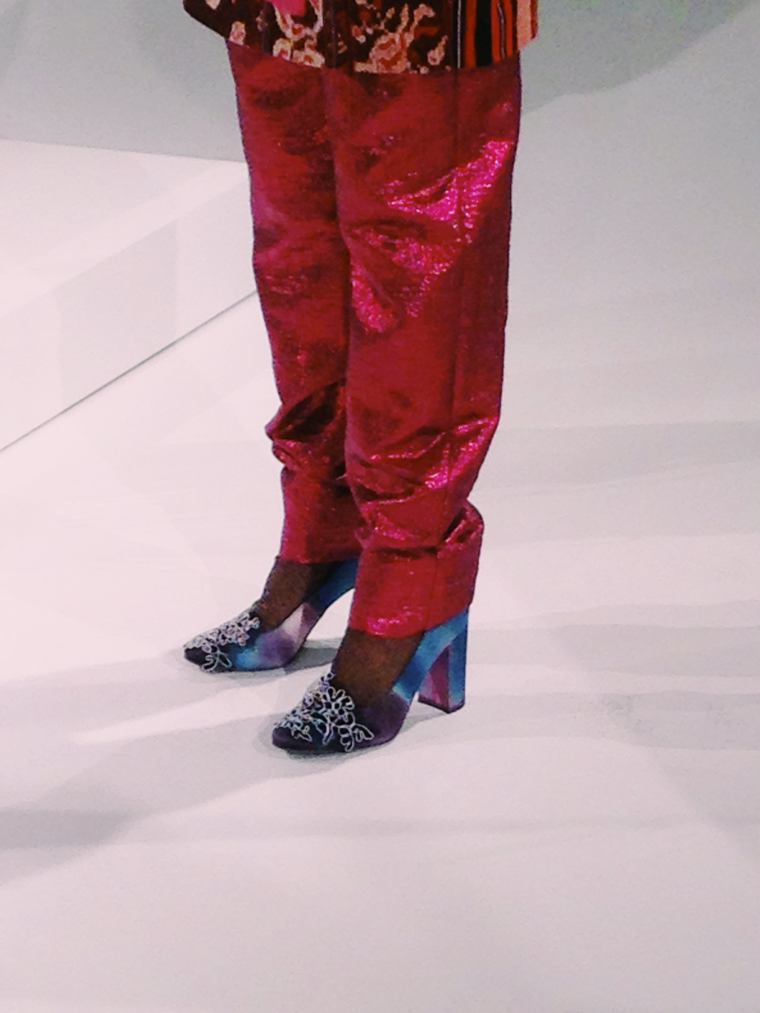 ghazaleh khalifeh shoe detail