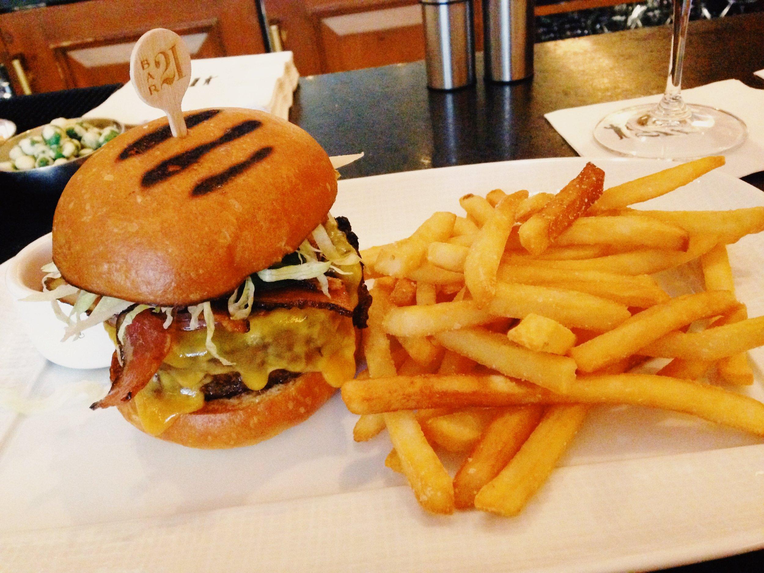 21 Club Burger