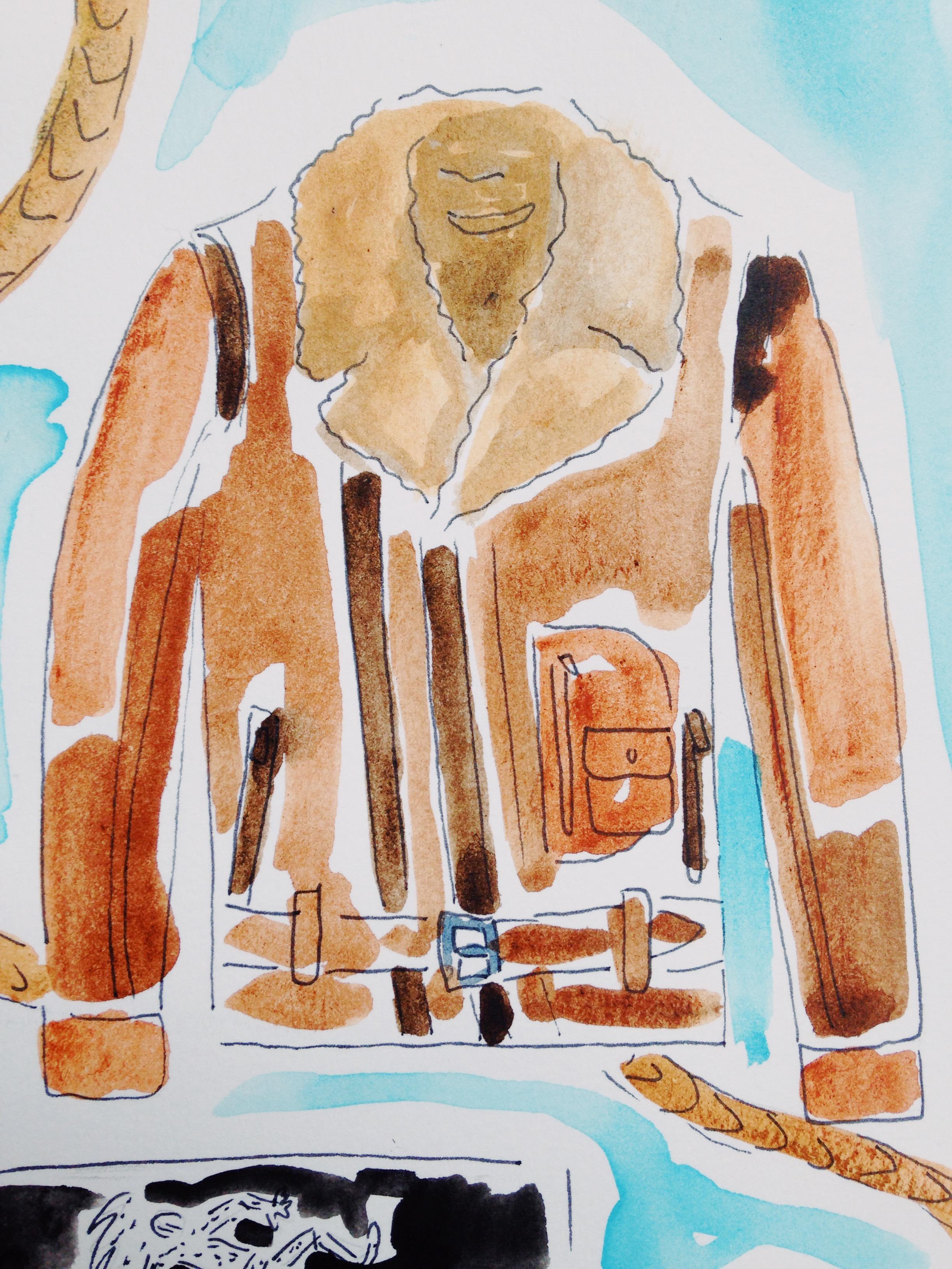 Belstaff aviator jacket from mr.porter