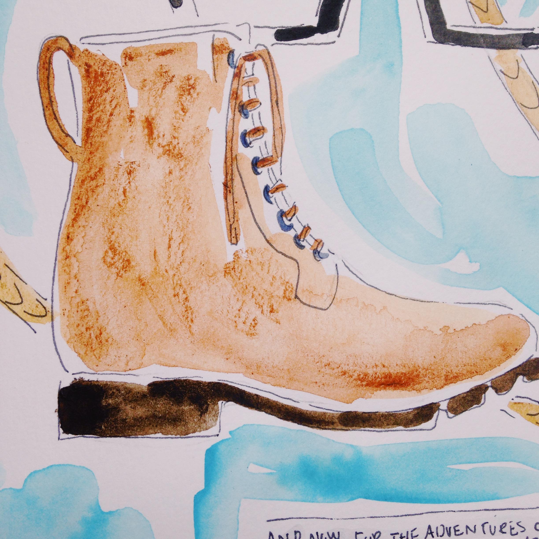 Nubuck boots from Barney's New York