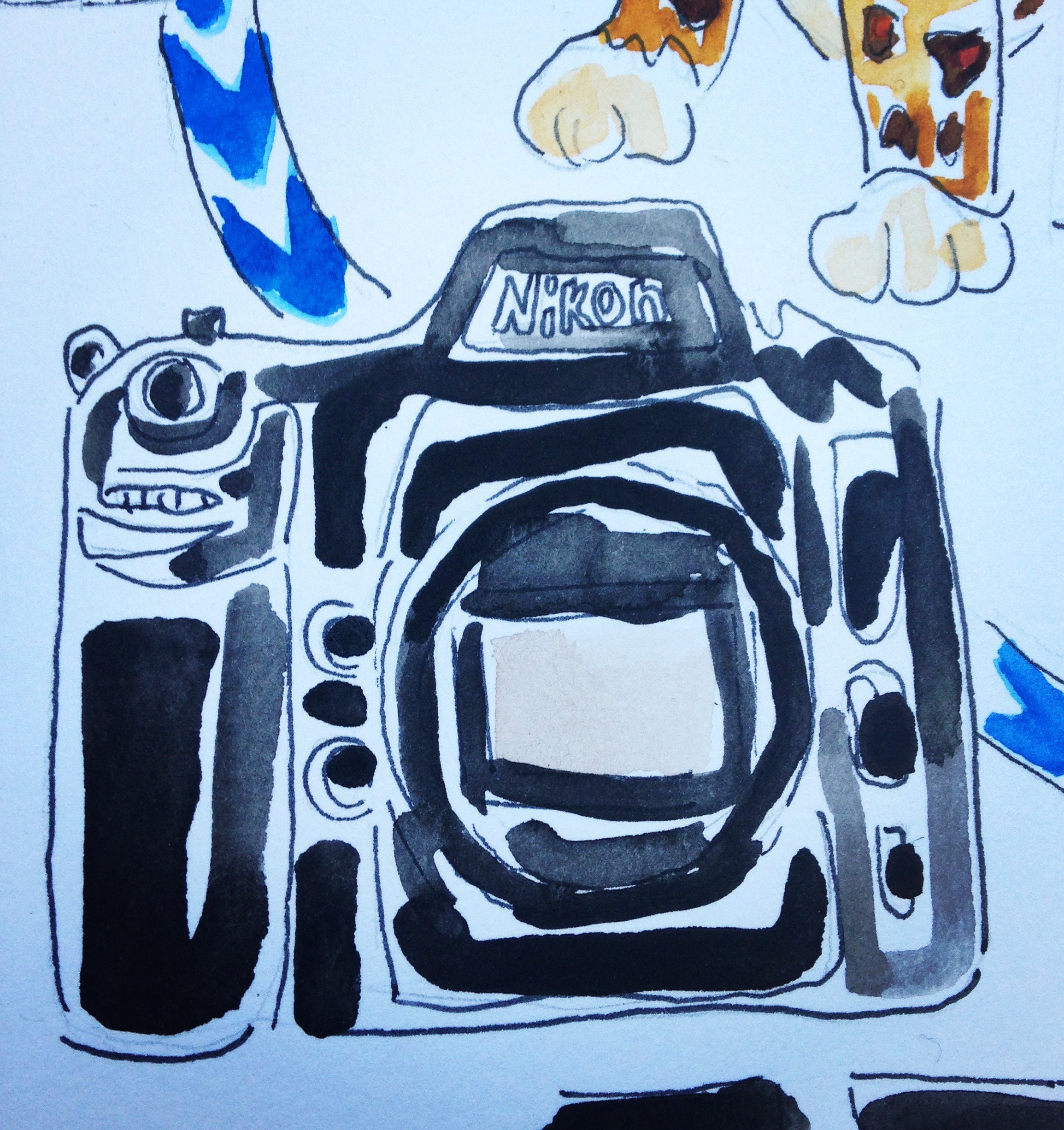Nikon Camera available at Yodobashi Camera.