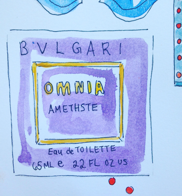 Bulgari Omnia amethste fragrance
