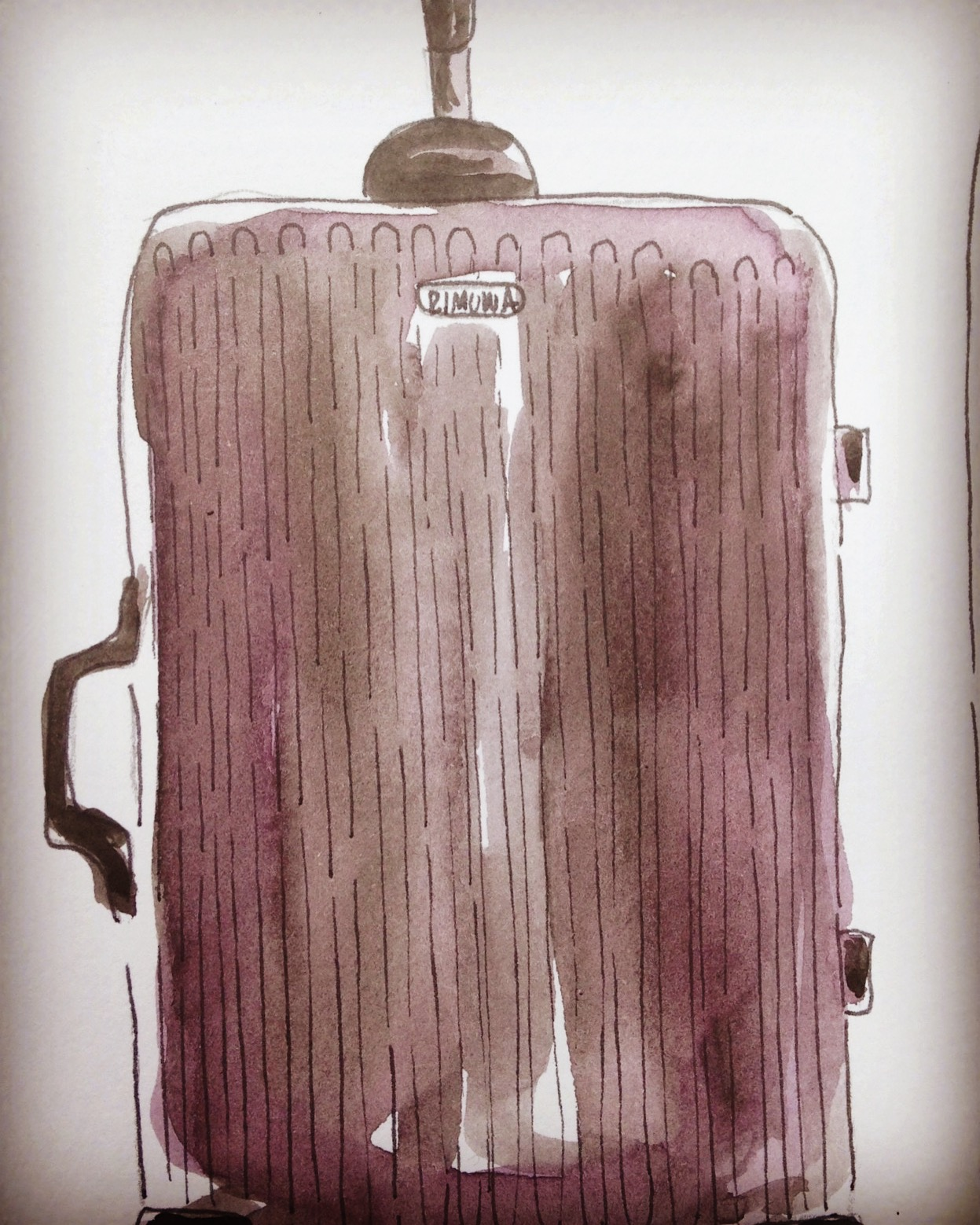 Rimowa Salsa suitcase available  here.