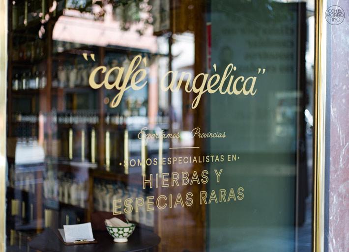 Angélica Café Madrid.