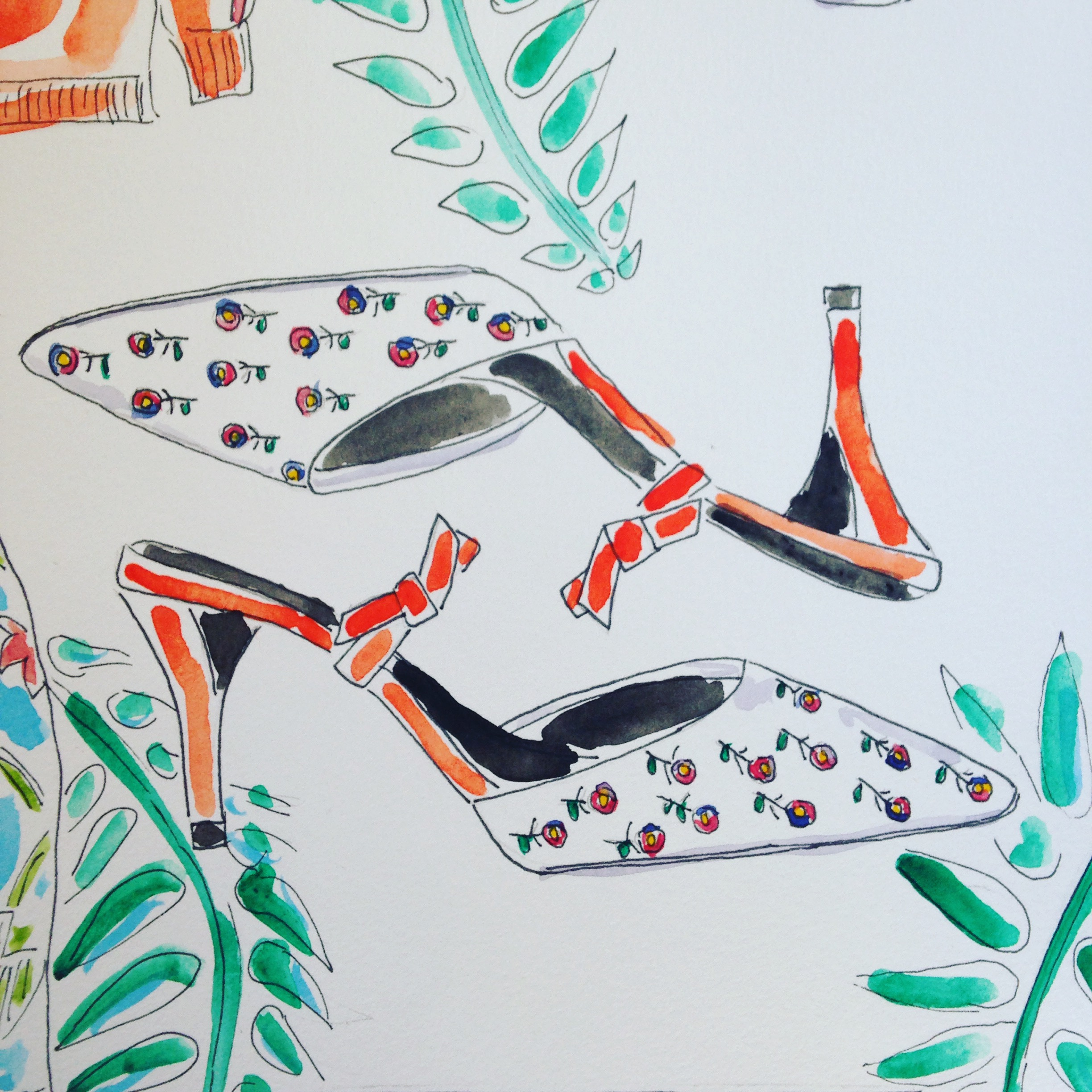 Roger Vivier Pumps available  here .
