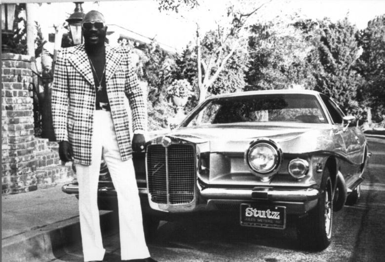Isaac Haye's Gold Plated Cadillac
