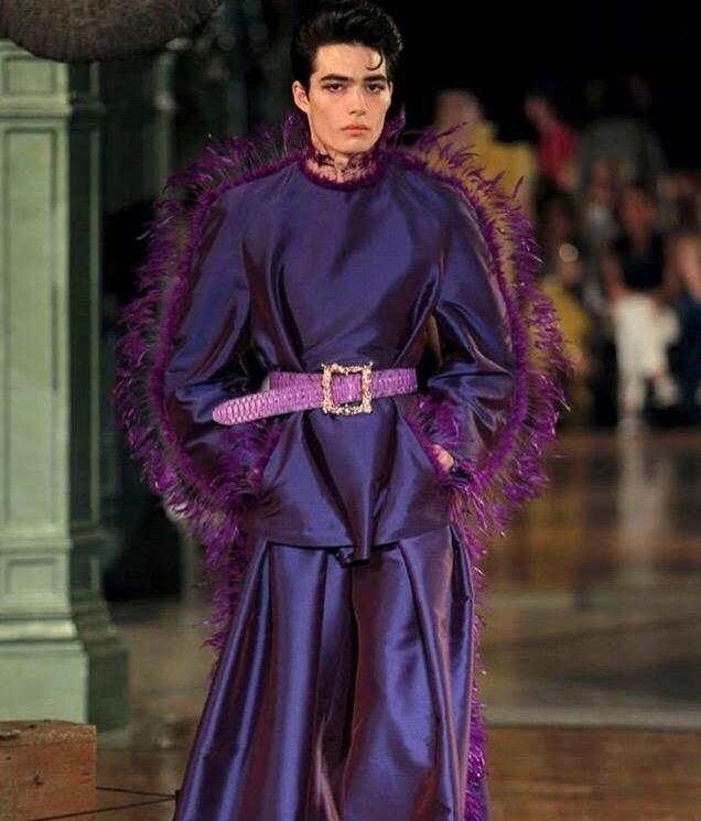 Purple Reign for Palomo Madrid SS19.