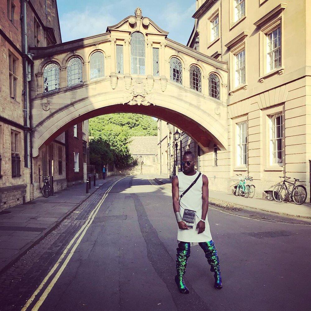 Madison Moore at Oxford University