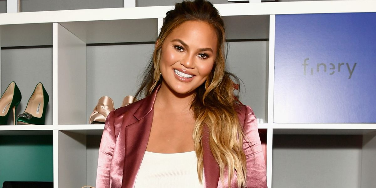 Dinner guest goals with Chrissy Teigen. Photo courtesy of BET.