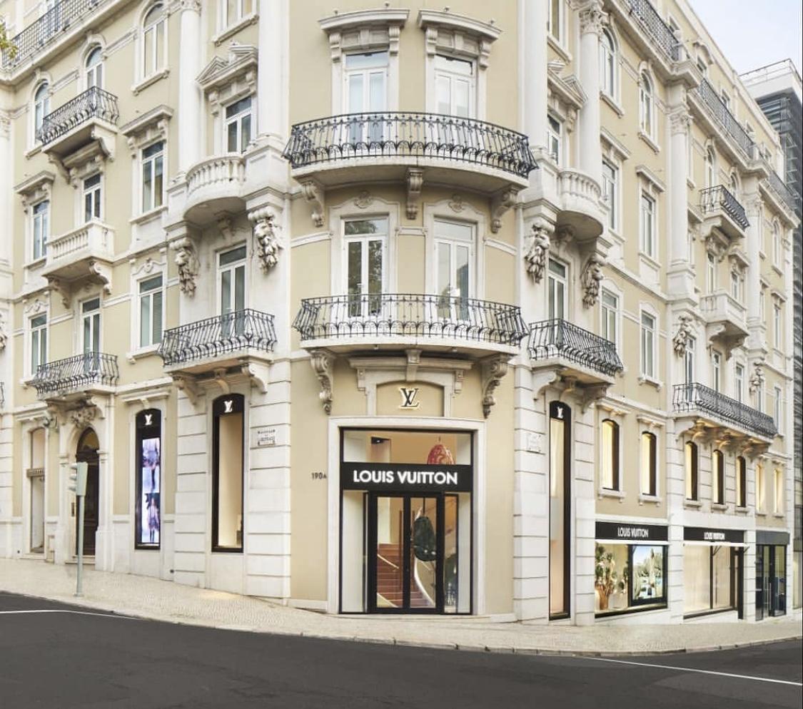 Louis Vuitton store, Lisbon.