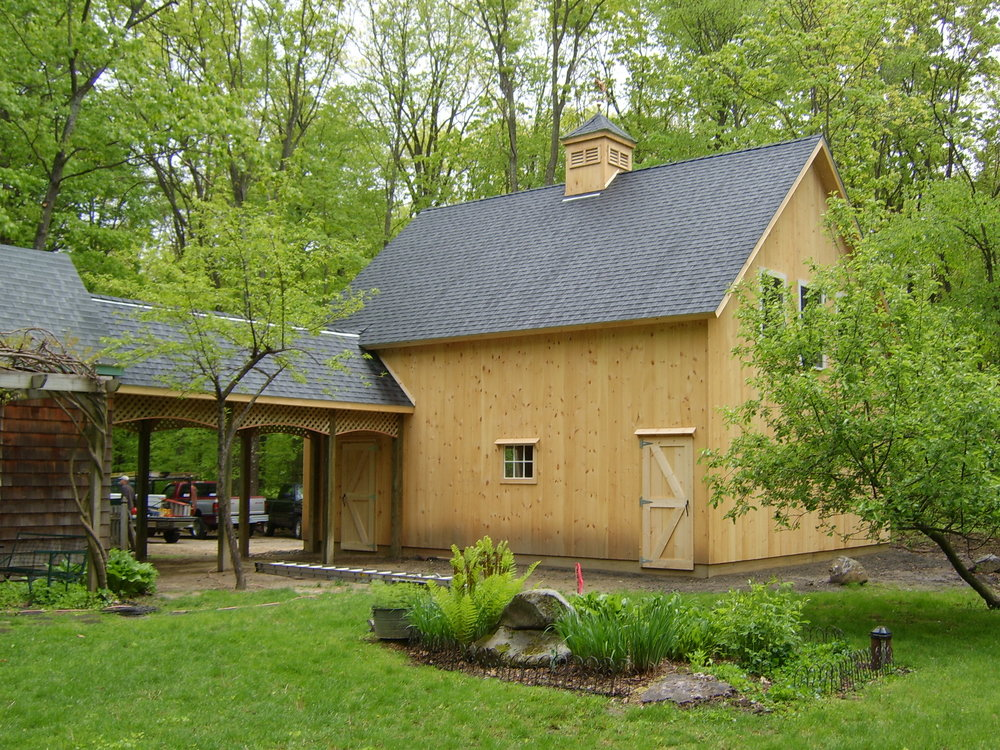 Pine Ridge Pole Barns built our combination pole barn/garage several years ago. Their work is impeccable, and quality is superior. Bob Sirchia and Pat Redmond are two of the nicest guys you'll ever want to do business with. Honest, straightforward and hardworking. Since we had such a great experience with the barn project, we later hired Bob and Pat to re-roof our house, do some minor exterior repairs, and then to install a new kitchen earlier this year. I would have no hesitation to call on them once again.