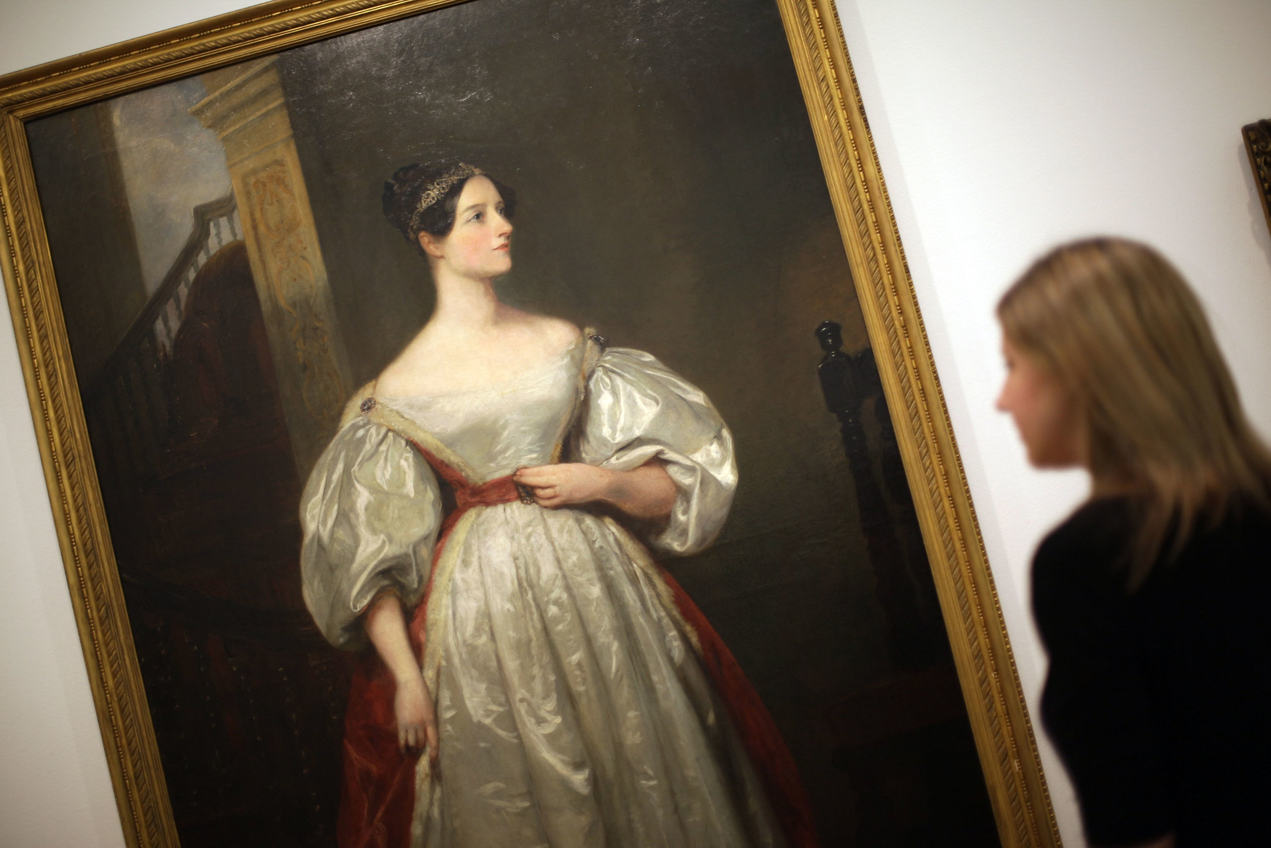 Ada Lovelace, the English mathematician known for her work on Charles Babbage's proposed mechanical general-purpose computer, the Analytical Engine. Photo by Peter Macdiarmid/Getty Images News / Getty Images