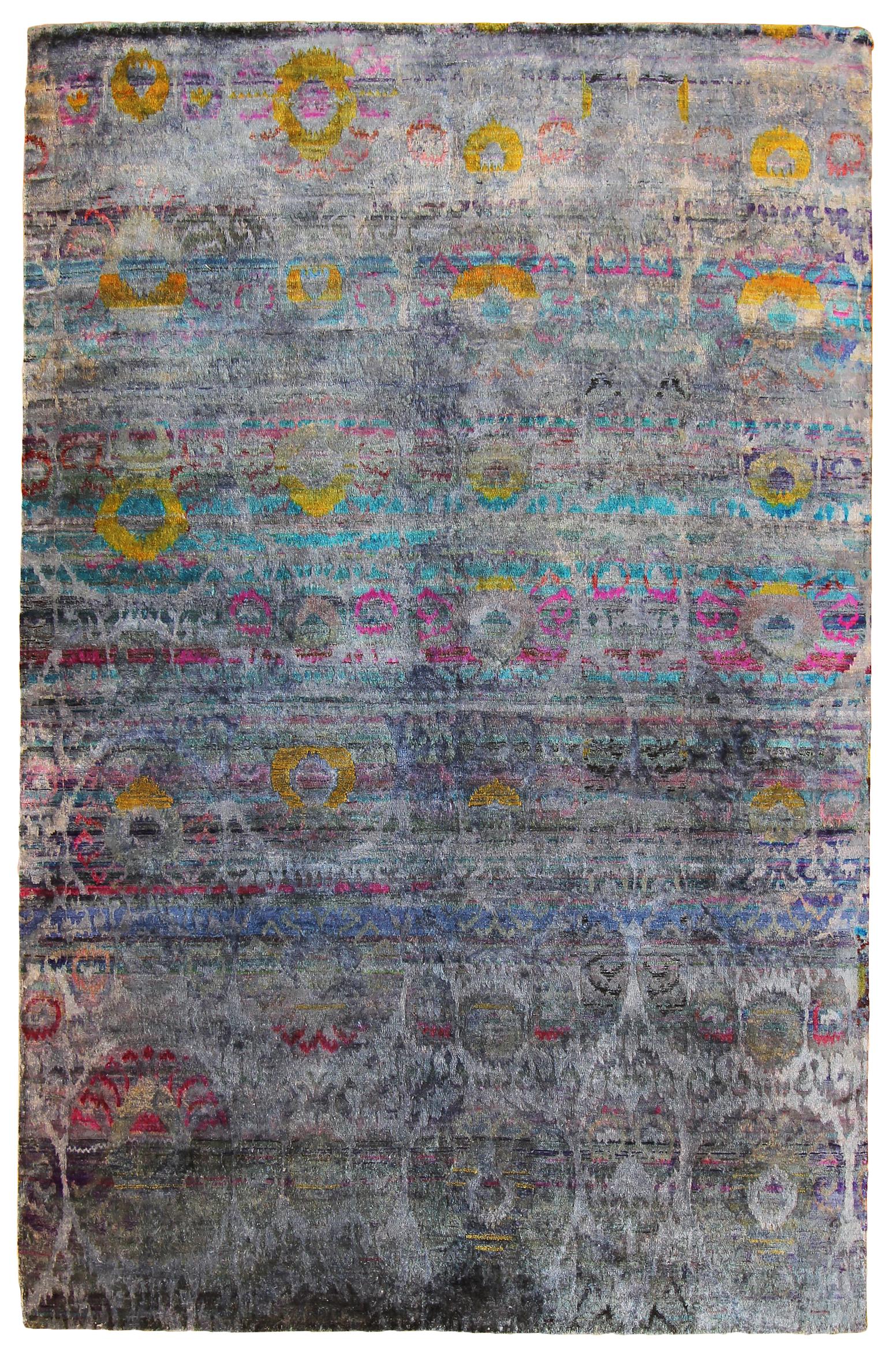 """744 Kundan Silk, Jaipur, 5'10""""x 8'11"""""""