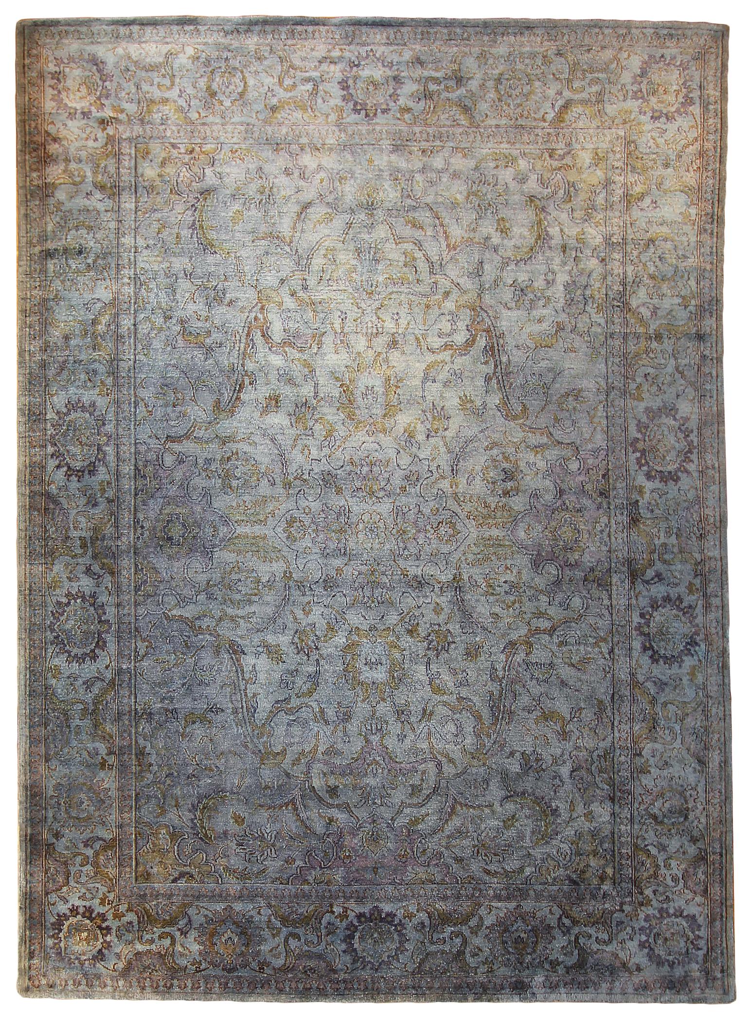 """790 Kundan Silk, Jaipur, 8'11"""" x 12' 4"""""""