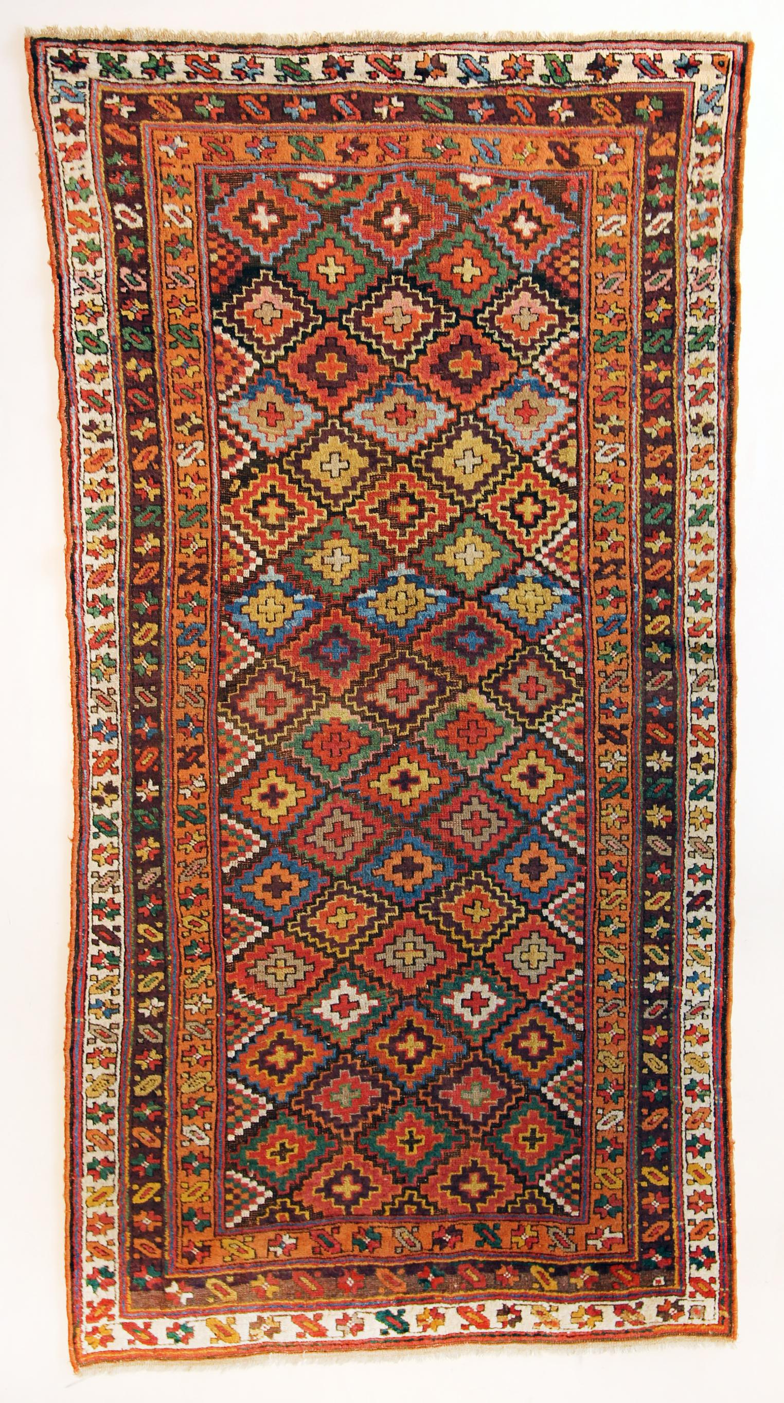 125 Antique Jaff Kurd, Persia, circa 1890, 4'5''x8'7''