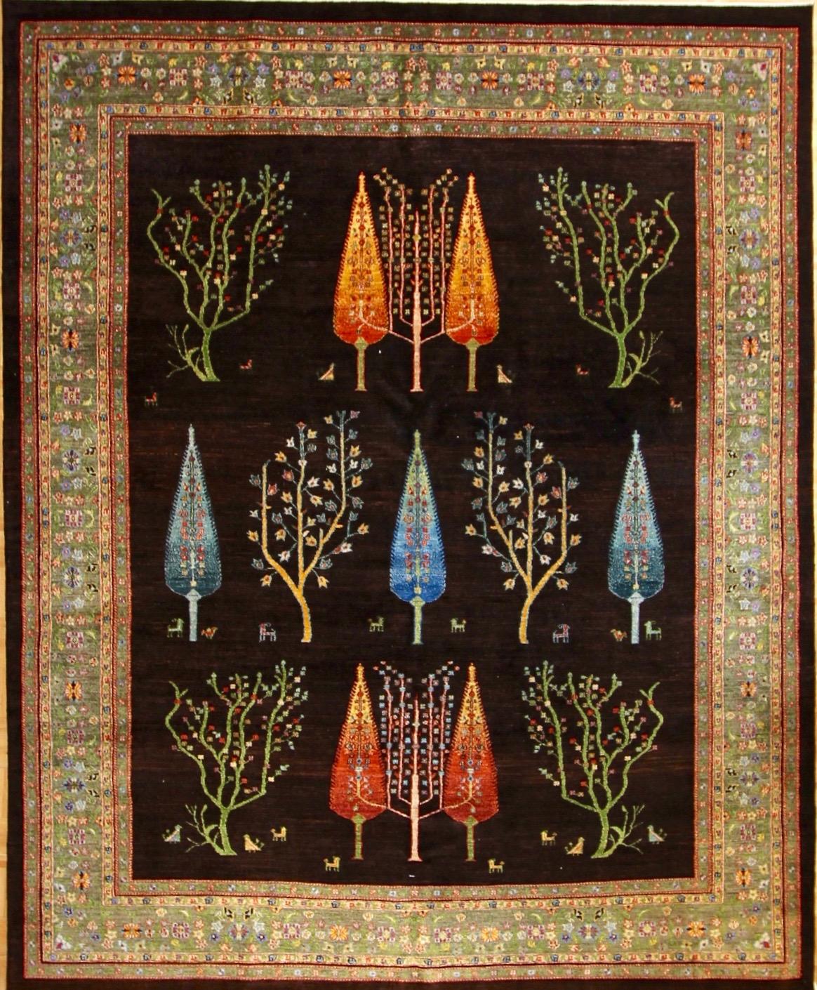 "865 Luri Bakhtiari, Persia 8'1""x10'"