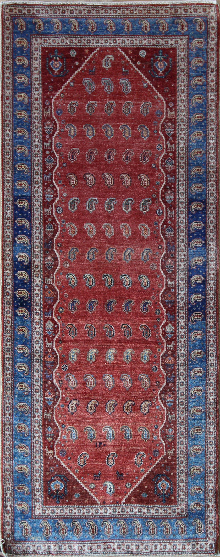 608 Luri Bakhtiari, woven by Nomads in S.W. Persia, 2'9'' x 7'