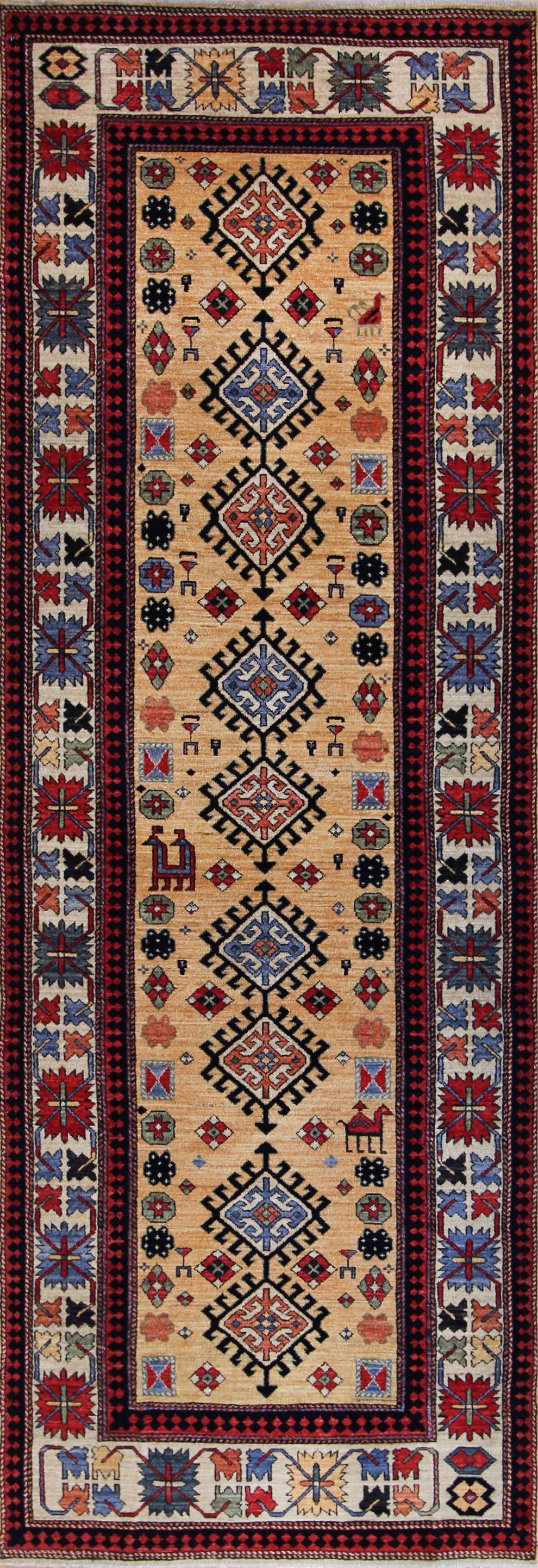 791 James Opie, Afghanistan, 3'4''x9'6''