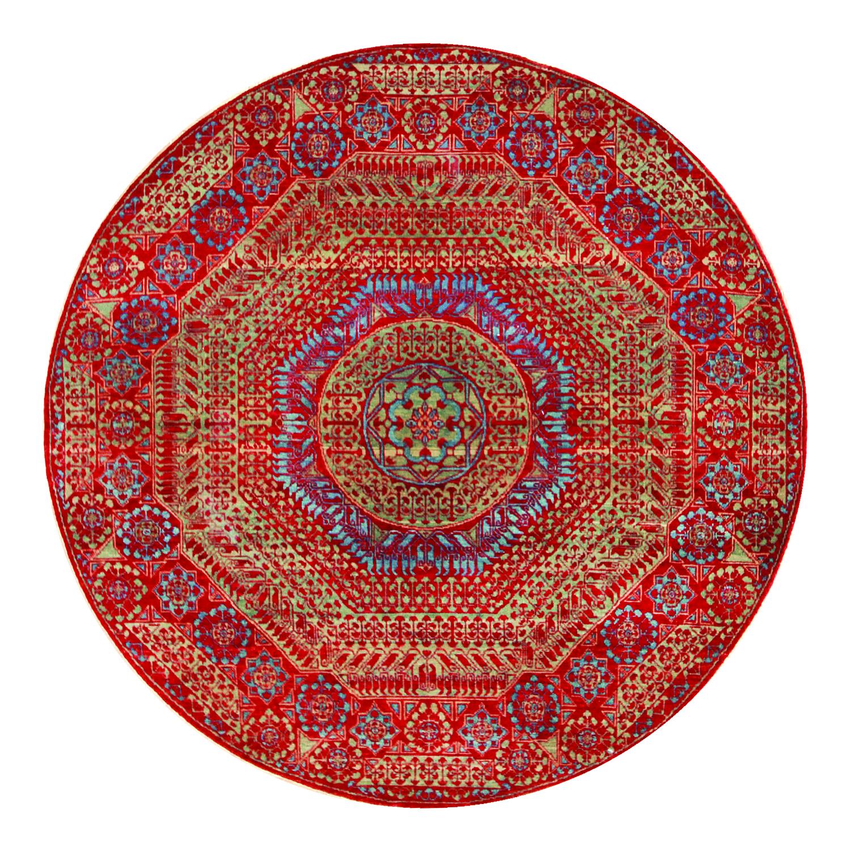 764 Sardis, Woven in India w Turkish wool, 5'x5'