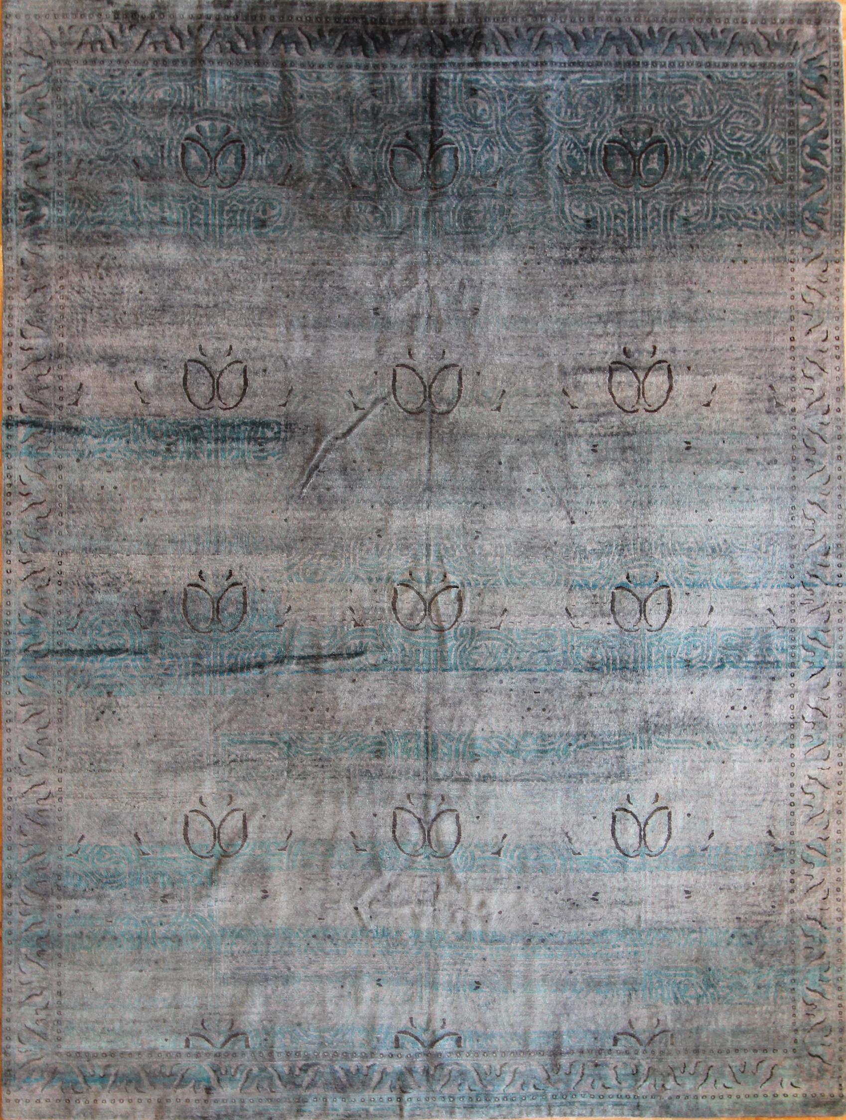 """863 Silk, Jaipur, 7'10""""x10'1"""""""