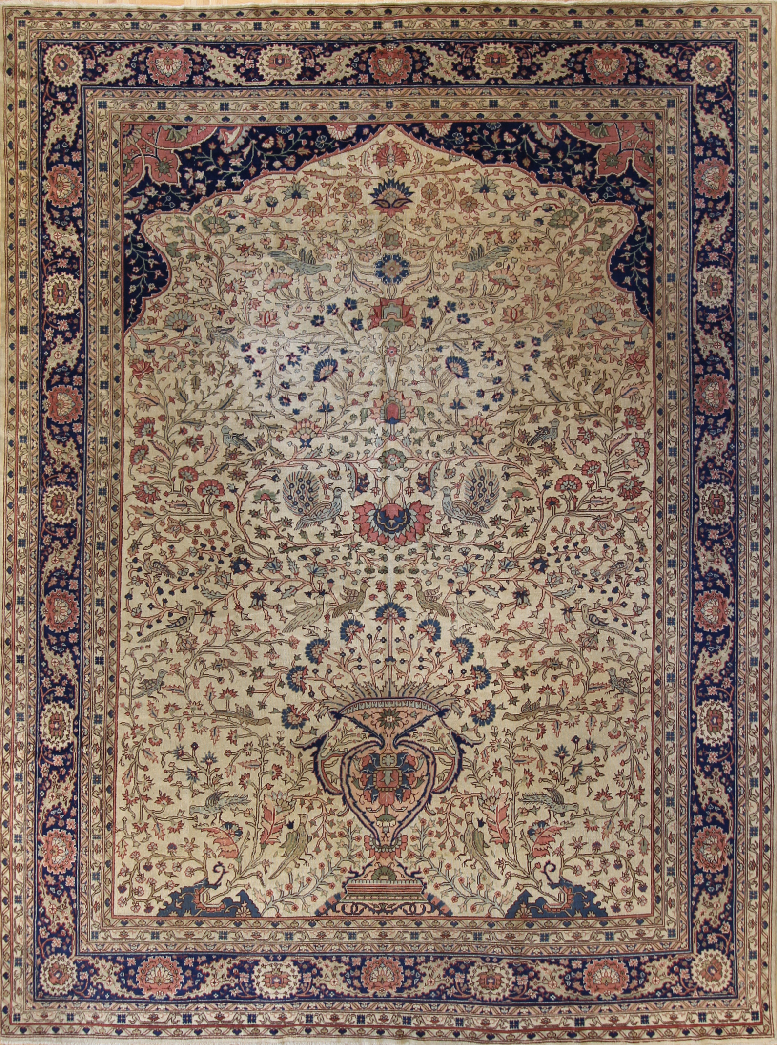 "545 Turkish Kaiserie circa 1900 8'8""x11'10"""