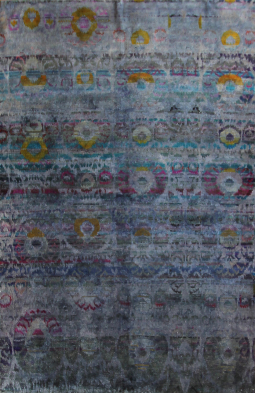 744 Kundan Silk, Sari Silk, Jaipur 5'10''x8'11''