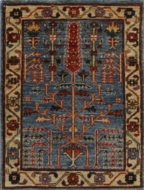 "884 Neman Tribal Afghanistan 2'x2'8"""