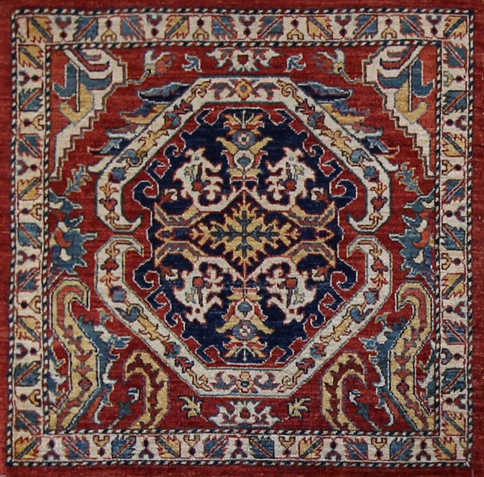 885 Tribal Afghanistan 3'x3'