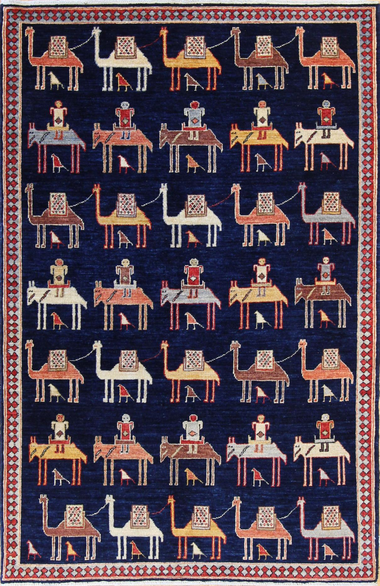 "925 Tribal, Afghanistan 4'x6'1"""