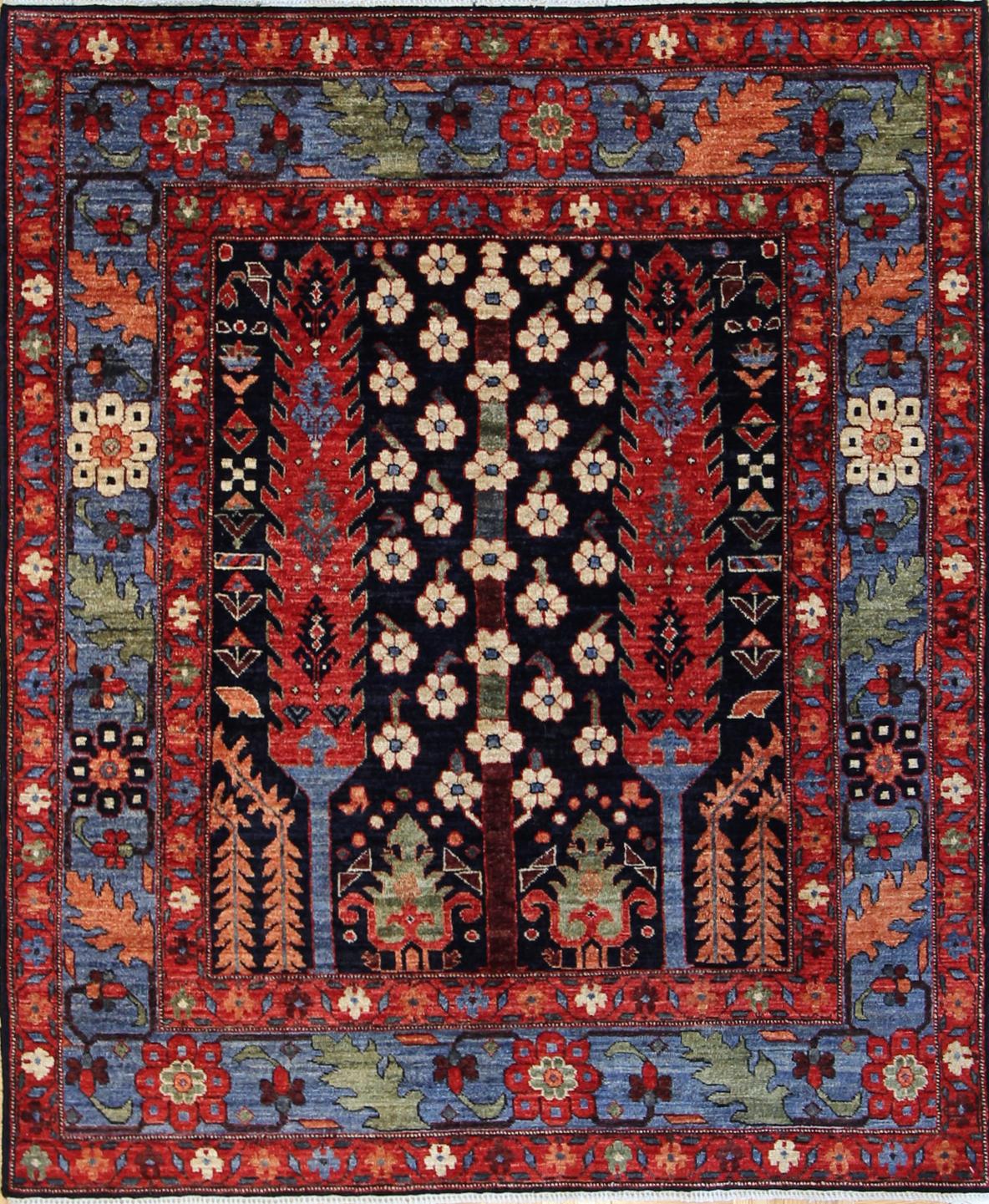 """926 James Opie, Afghanistan 4'x4'9"""""""