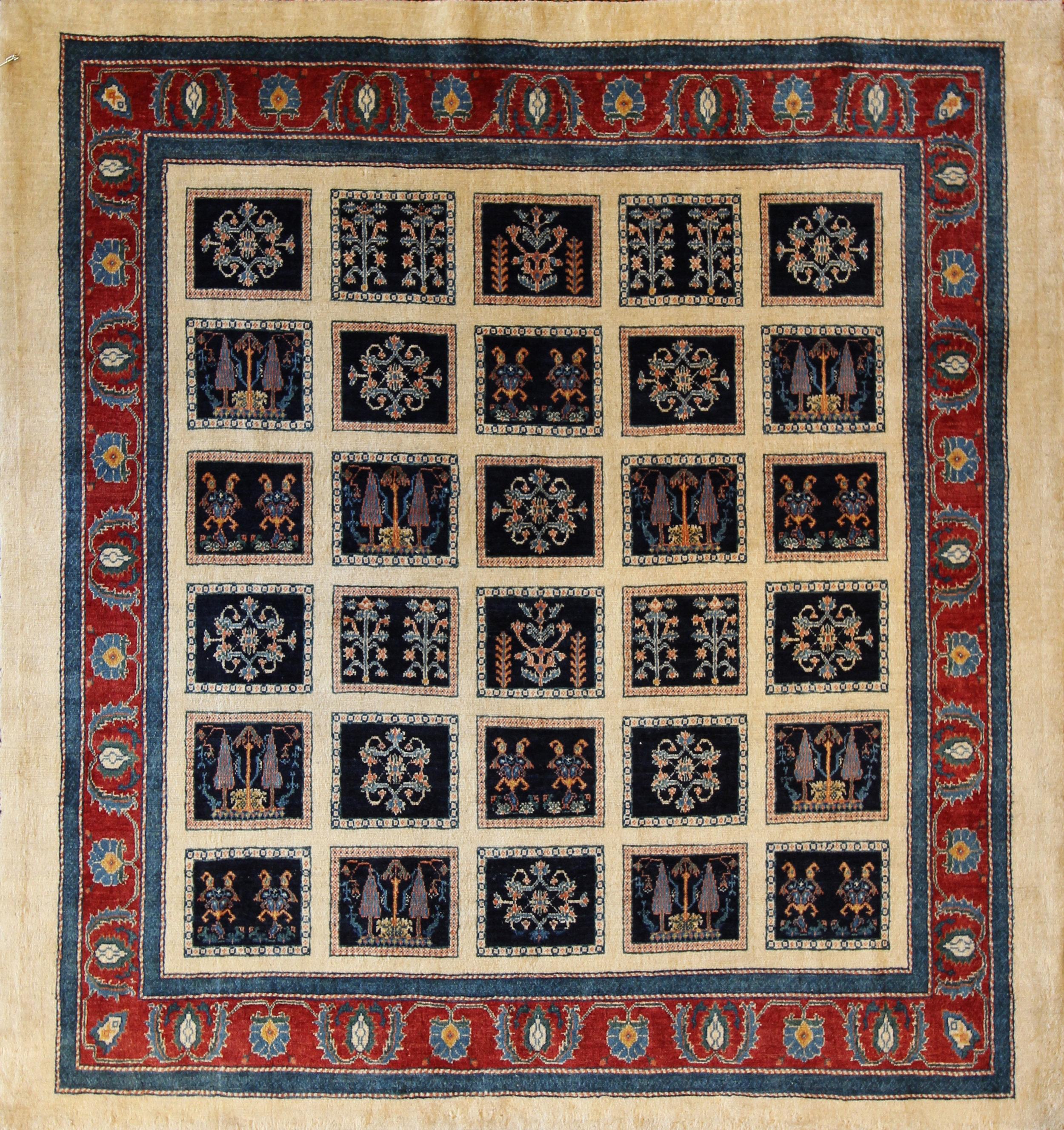 """935 Gabbeh, Persian, 5'8""""x6'"""