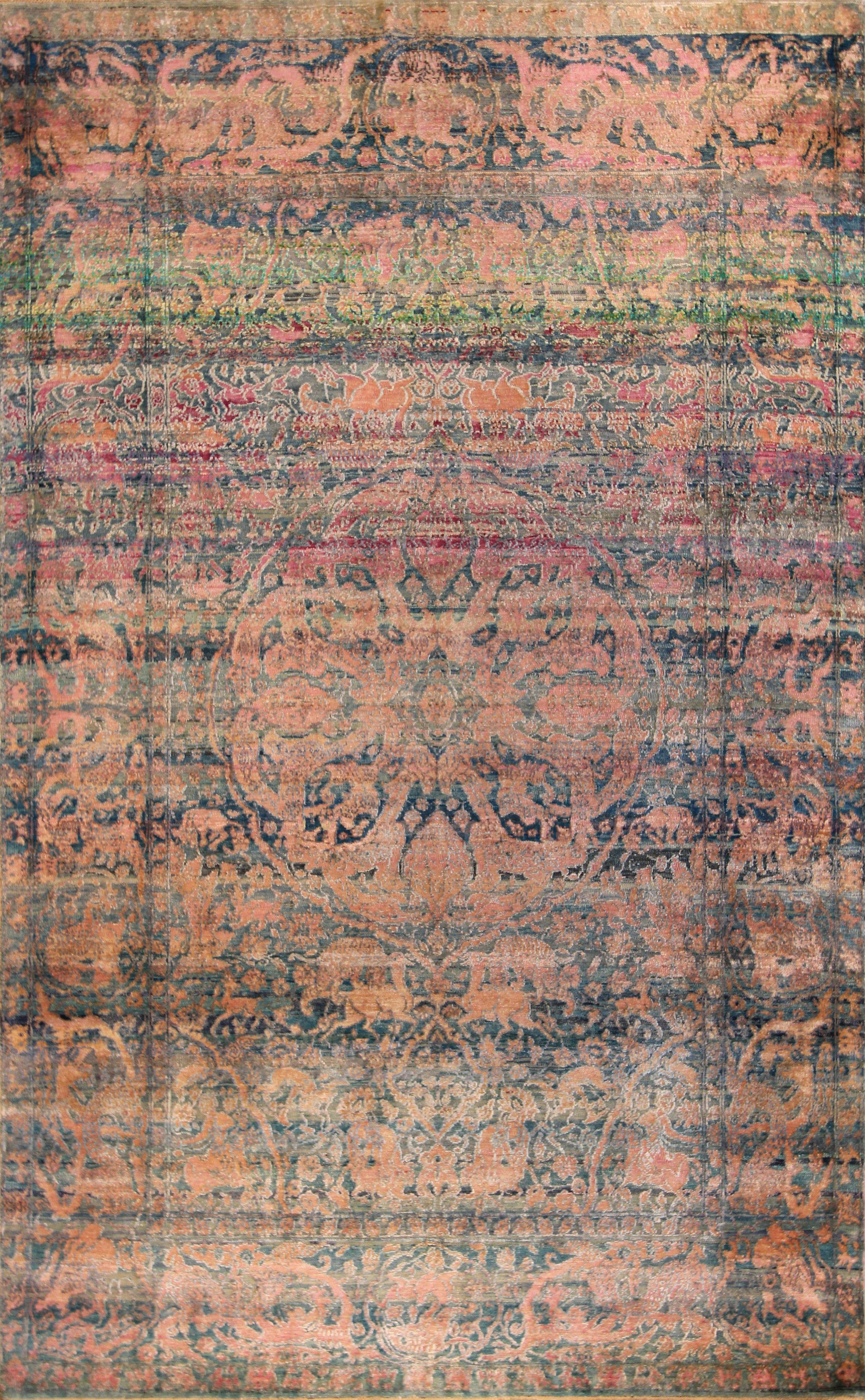 """942 Silk Jaipur 6'x9'7"""""""
