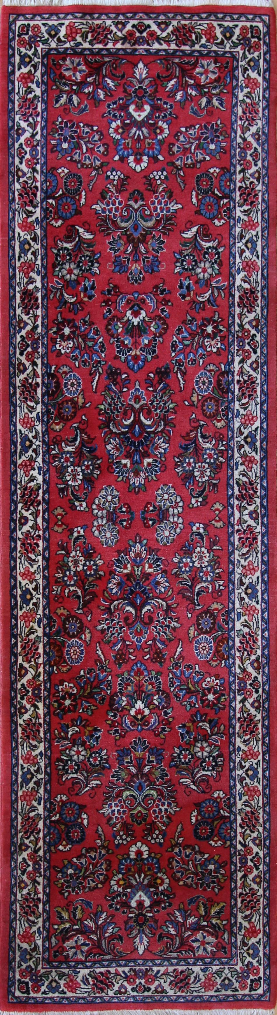 """954 Sarouk Persian 2'8""""x9'10"""""""