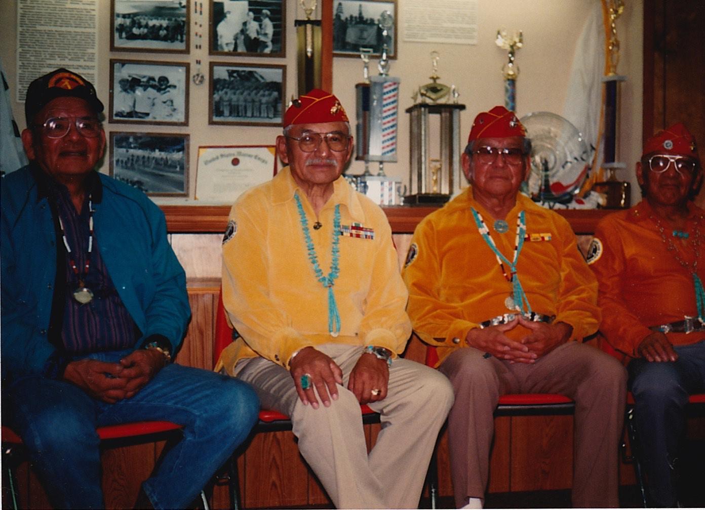 (L TO R) Keith Little, Albert Smith, James Nakhai, George Kirk.