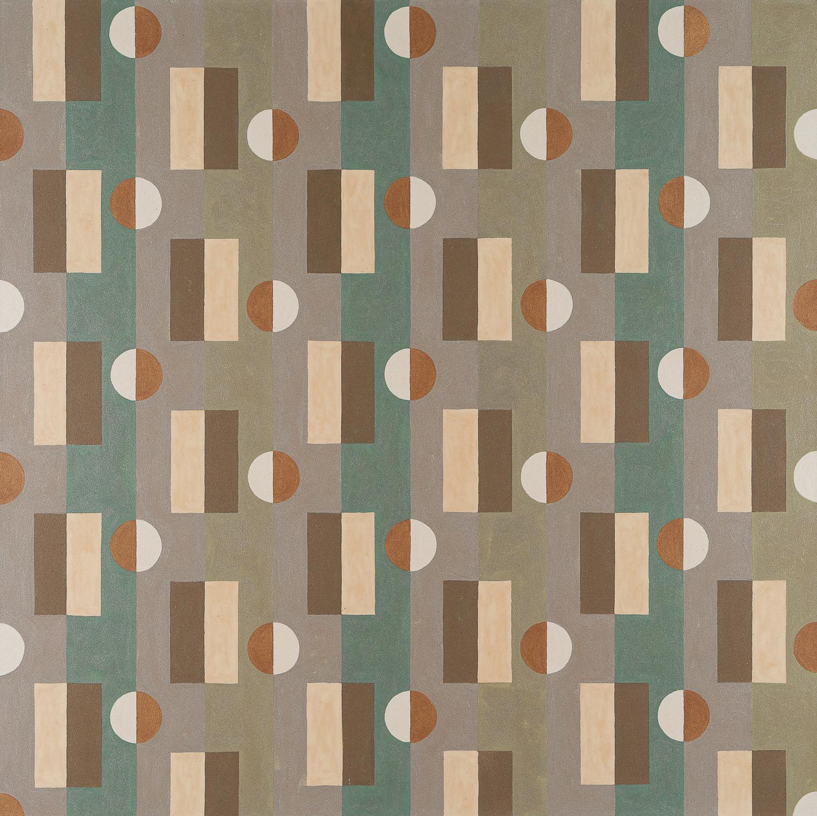 "Pattern 2 - Canyon  , 2016, acrylic on canvas, 48"" x 48"""