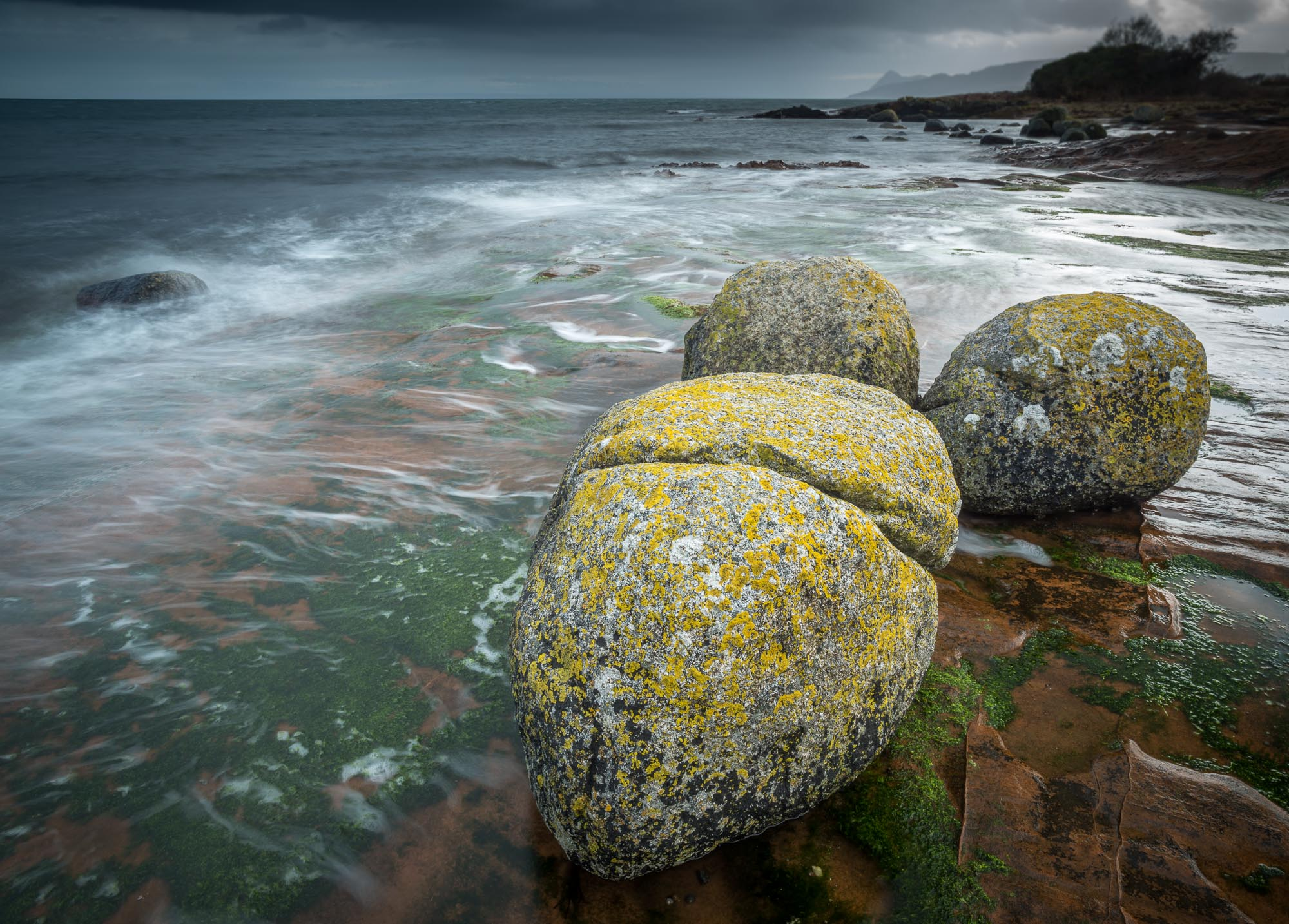 Erratic boulders at Corrie