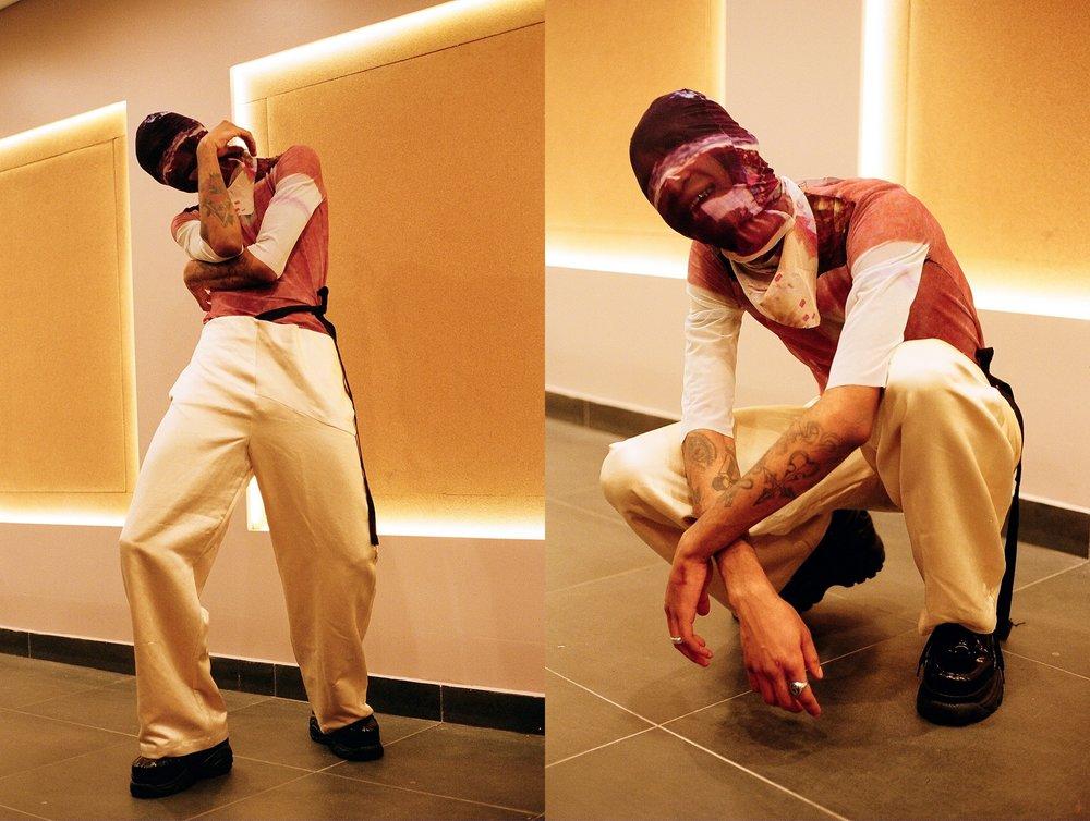 full look by Victoria Aguilar  model: Zeraj Retalso  Photographer: Bobby Banks