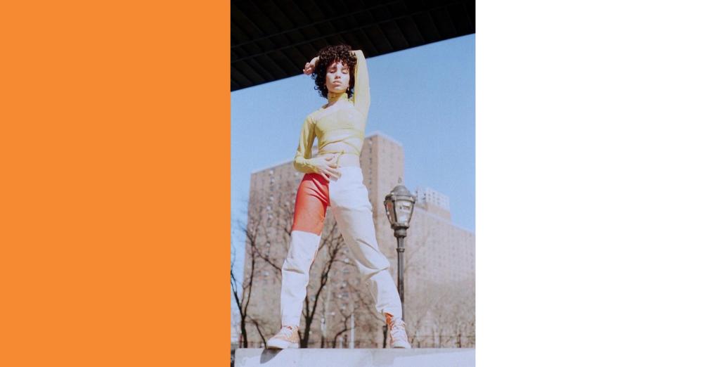 Keiko Koakutsu top, Camerin Stoldt pants, Converse shoes  model: @officialgemparker  photographer: Bobby Banks @bobbyybanks