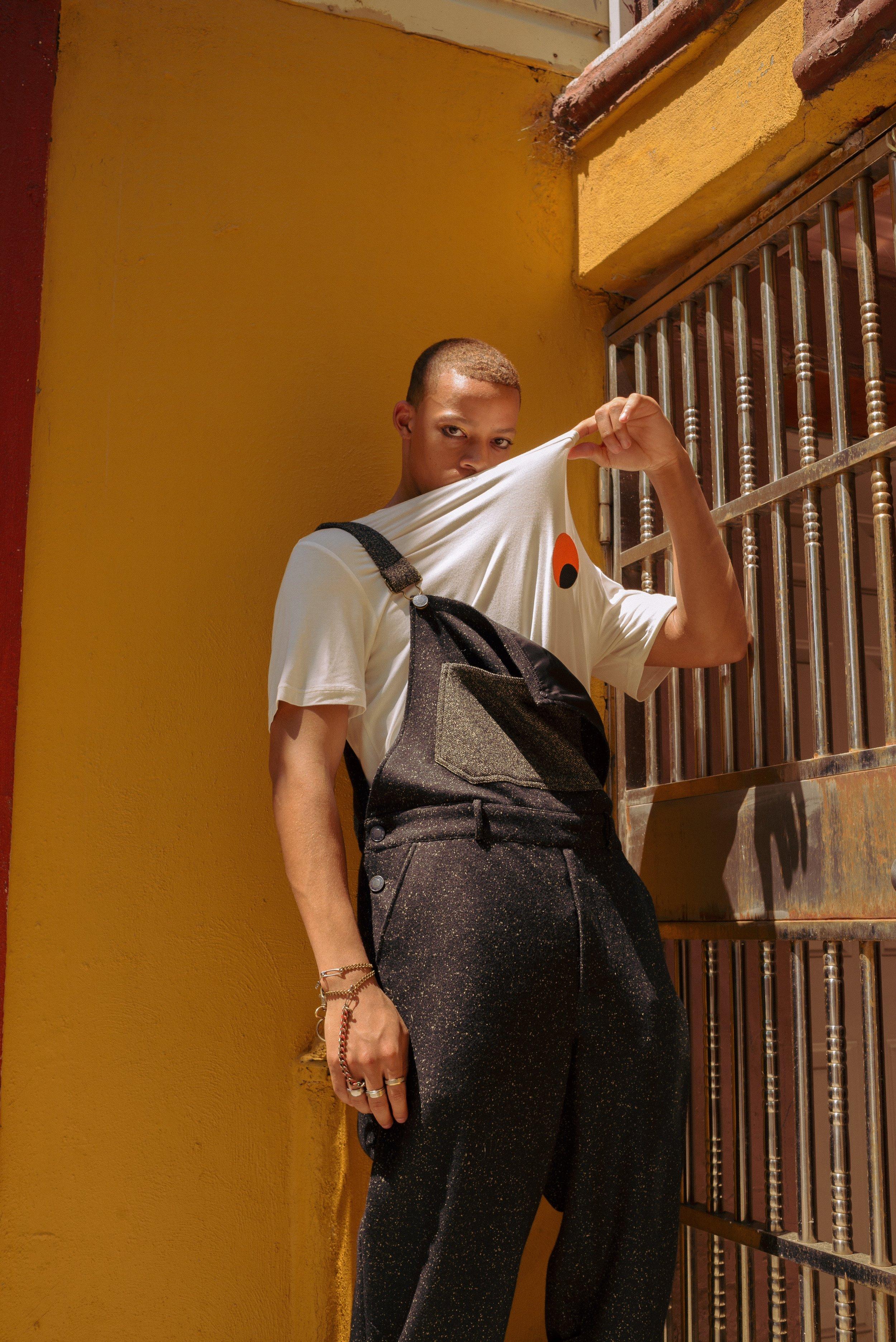full look by Rochambeau  Photographer: DIego Palomino, MUA: Nana Hiramatsu, Model: Joel Kelly