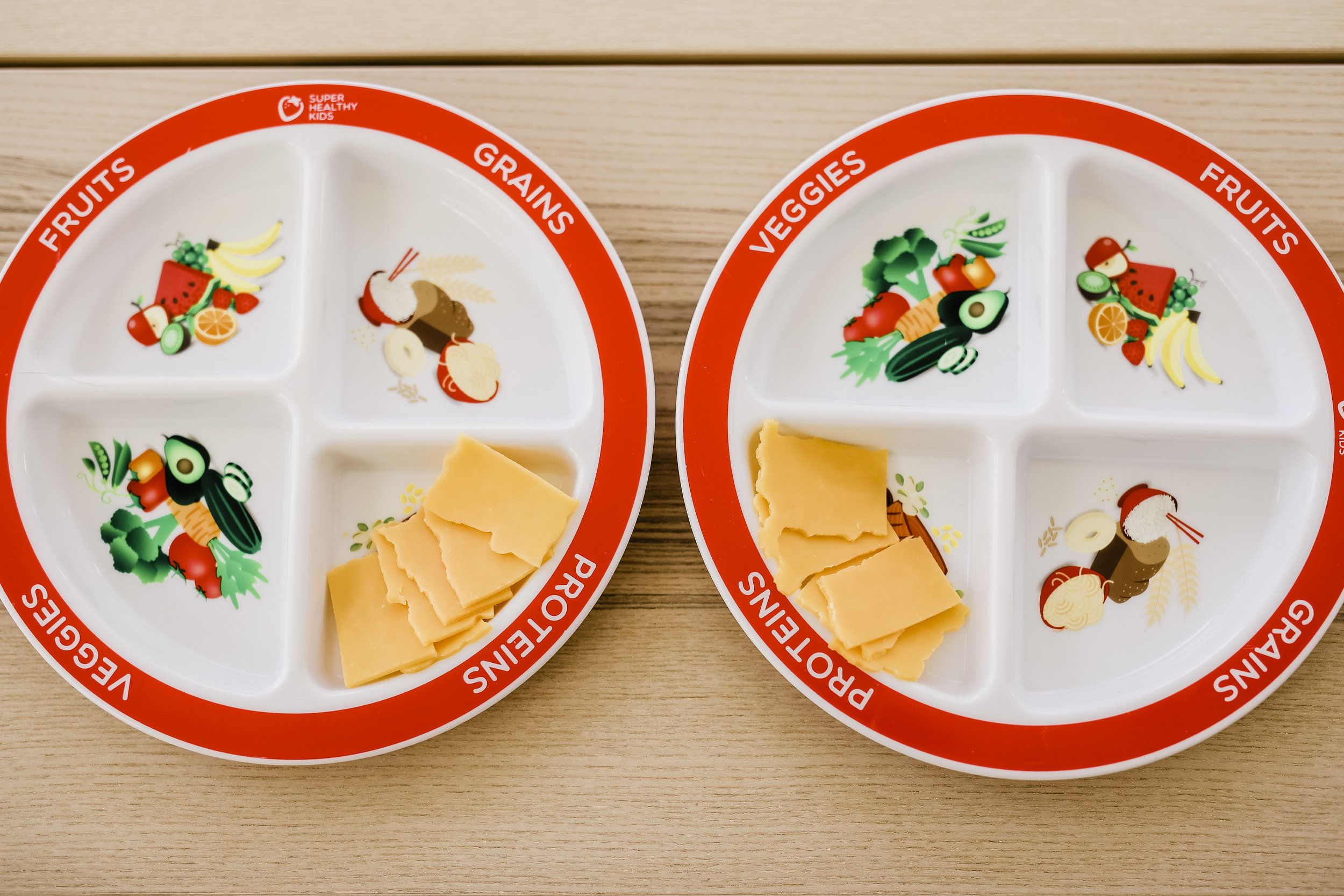 We love these toddler plates