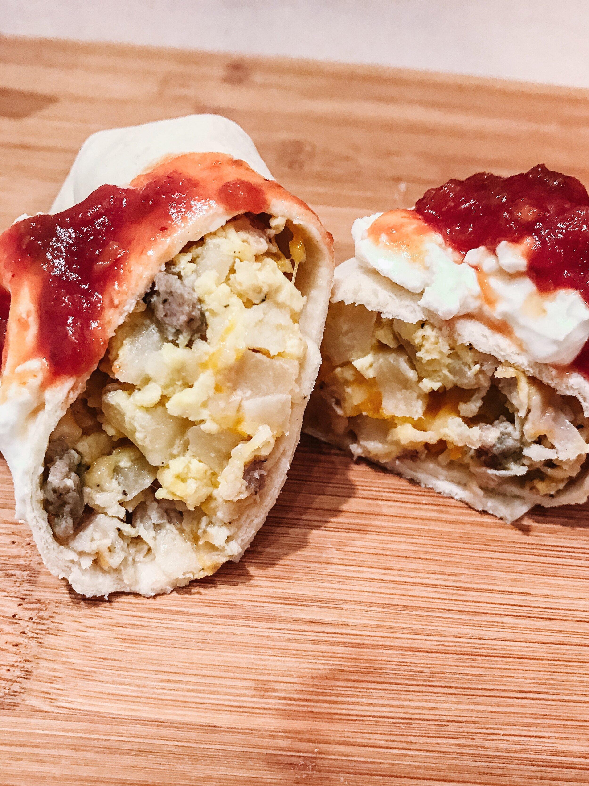Overnight Crockpot Breakfast Burrito Casserole The Dashleys