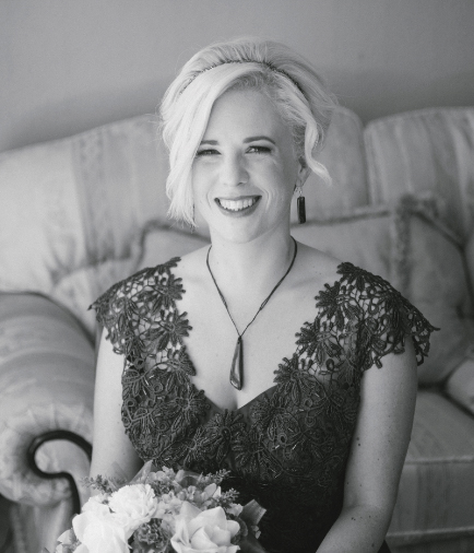 - My wonderful wedding photographer Elena, and all around fantastic human being. So good at keeping everyone doing what they needed in a relaxed and calm manner. Can't recommend highly enough - Alysha Akula-Gray