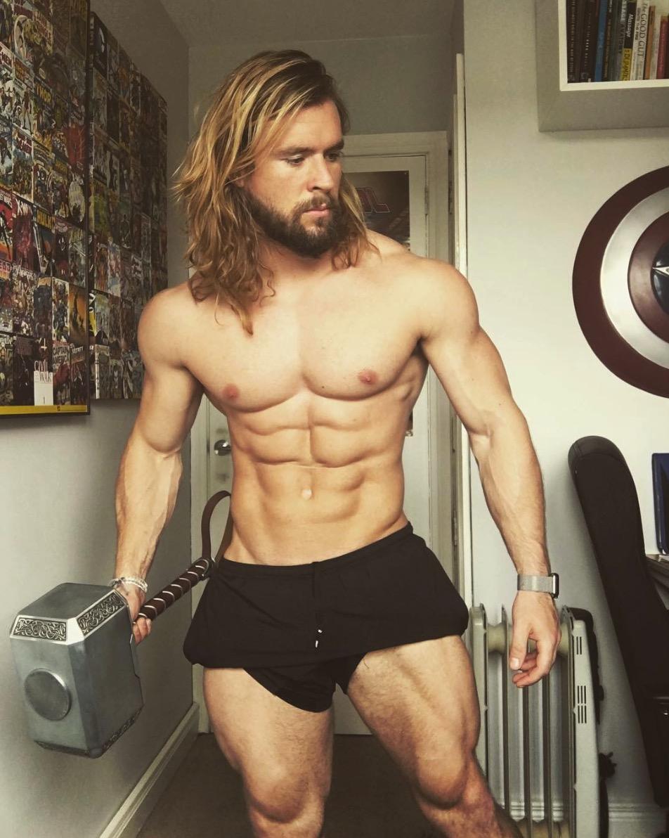 Ben Mudge Aka Thor ⚡️on Instagram