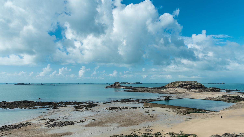 tidal pool saint-malo
