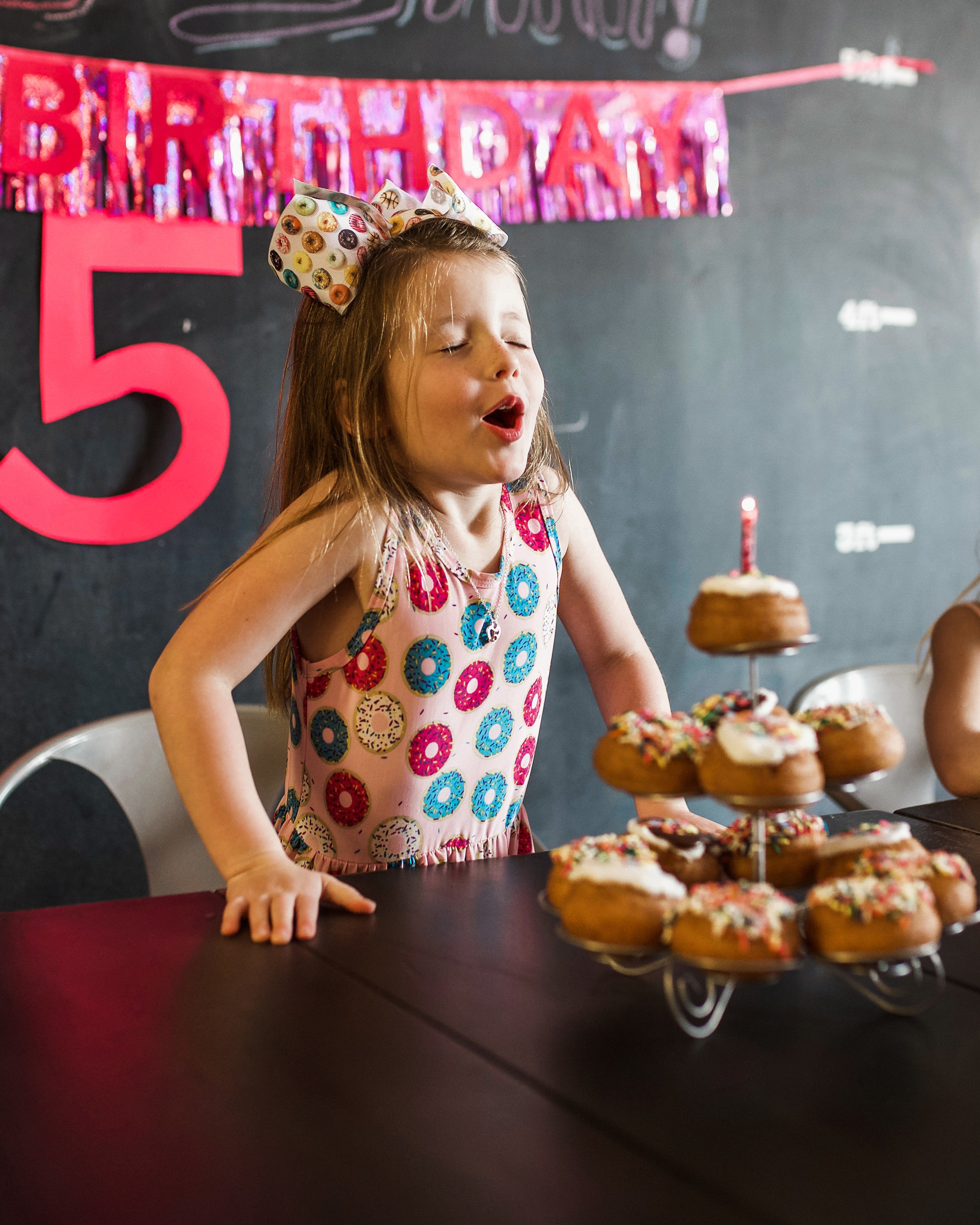 da vinci's donuts birthday party