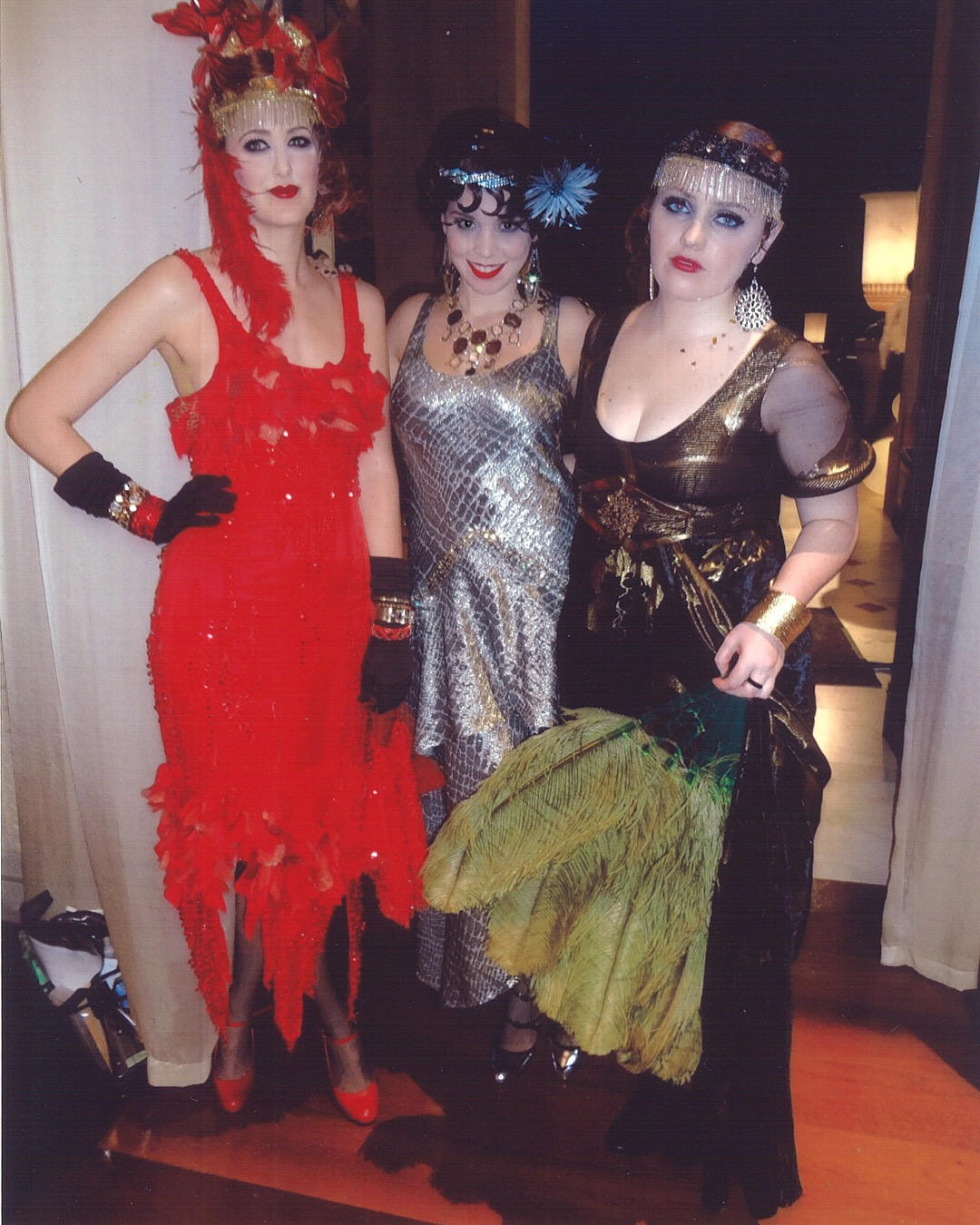 4 - Me and two of my coworkes in costume as extras for Gatsby.jpg
